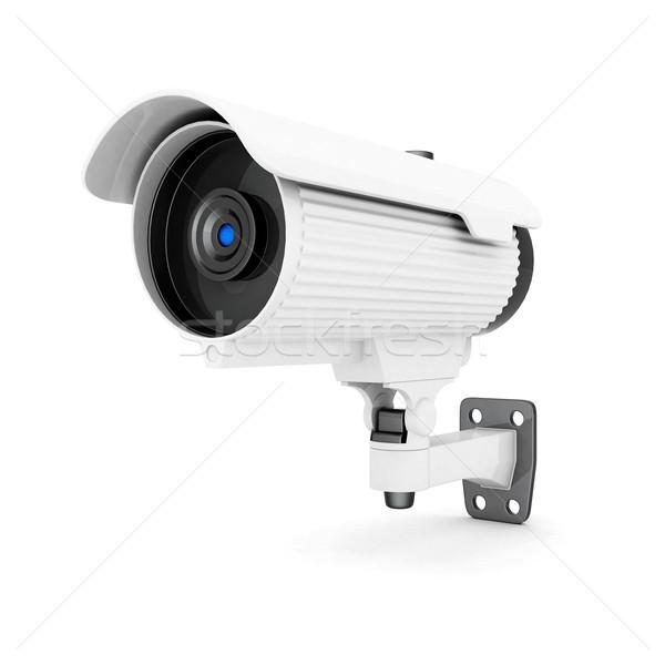 Cámara imagen blanco tecnología vídeo protección Foto stock © mastergarry