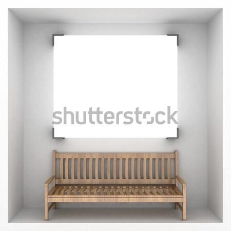 Abstrato estilo apresentação banco conceito bandeira Foto stock © mastergarry