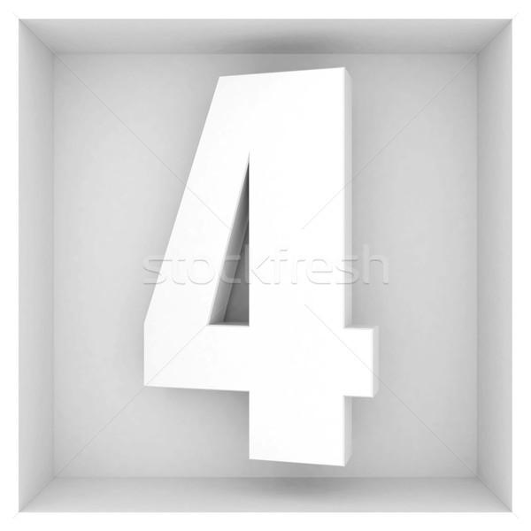 美しい ボリューム 番号 グレー 抽象的な デザイン ストックフォト © mastergarry