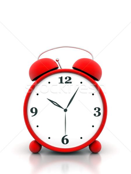 目覚まし時計 美しい 画像 赤 白 にログイン ストックフォト © mastergarry