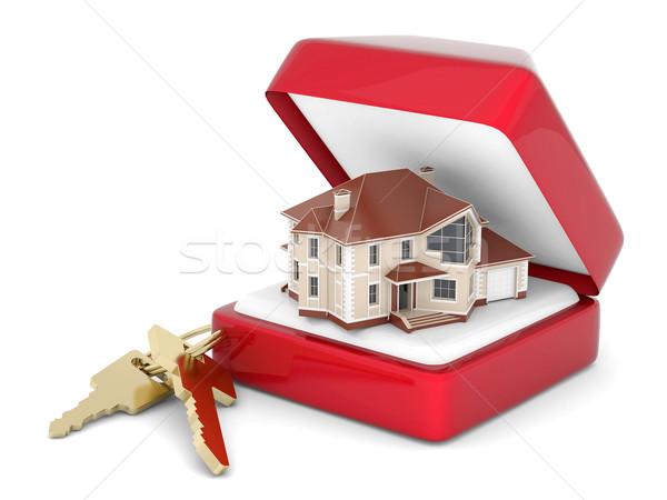 House with keys Stock photo © mastergarry