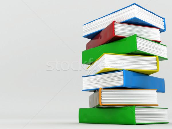 Stockfoto: Boeken · literatuur · foto · papier · achtergrond