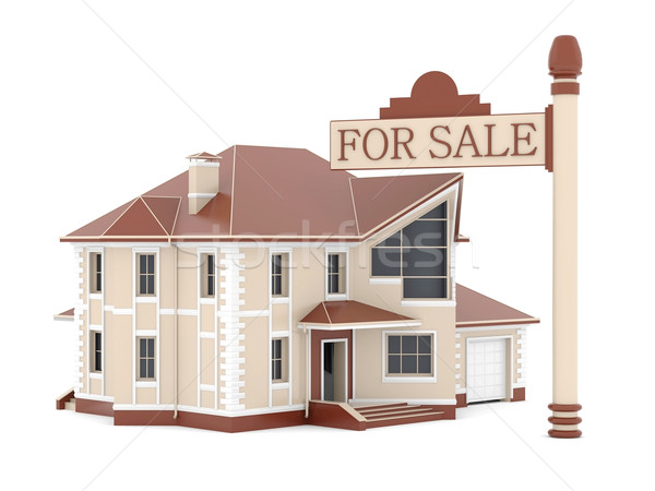 house for sale Stock photo © mastergarry