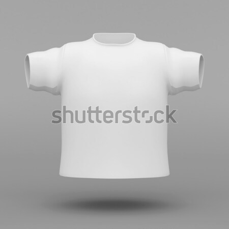 Belo branco suéter cinza corpo homens Foto stock © mastergarry