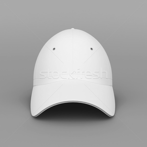 White baseball cap Stock photo © mastergarry