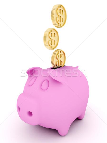Foto d'archivio: Finanziare · immagine · soldi · carte · di · credito · mondo · bianco