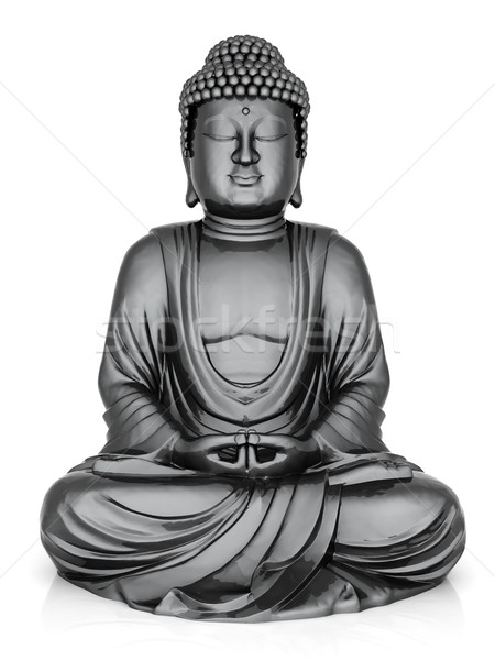 Or statue buddha image asian Photo stock © mastergarry