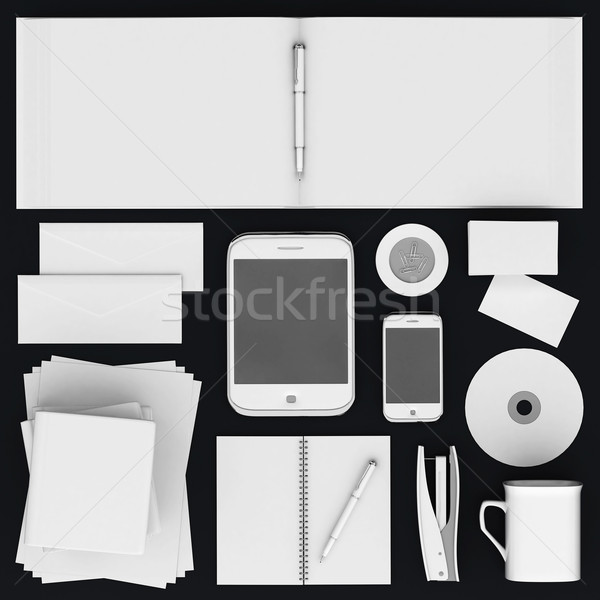 Stock photo: Corporate identity template