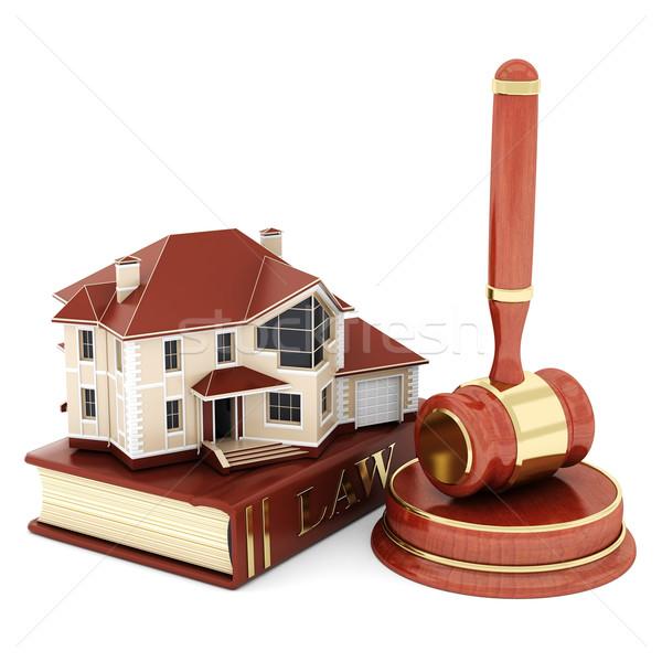 Foto stock: Belo · imagem · judicial · livro · fundo · janela