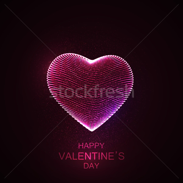 Happy Valentines Day Stock photo © maximmmmum