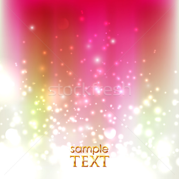 abstract holiday background with sparkles  Stock photo © maximmmmum