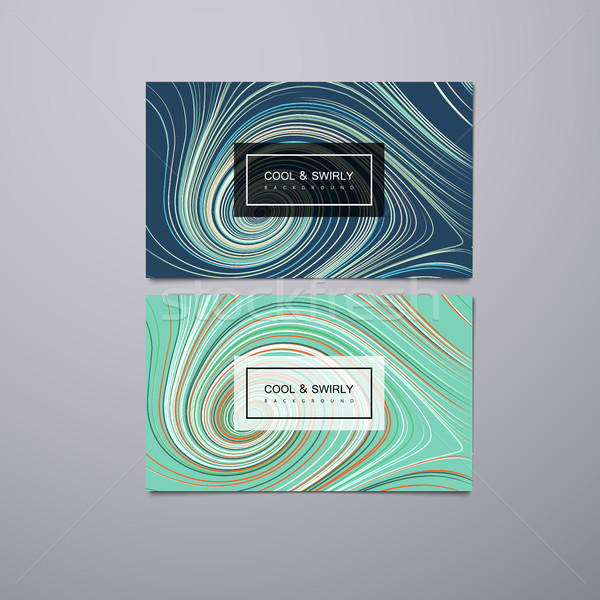 Greeting, invitation or business cards design template Stock photo © maximmmmum