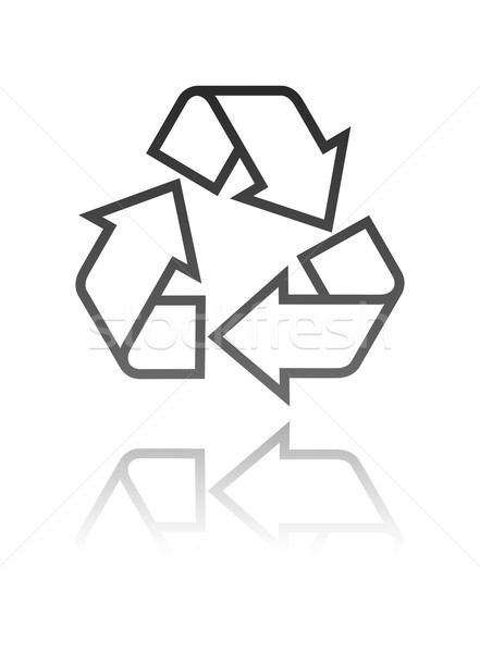 recycle symbol  Stock photo © maximmmmum