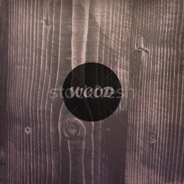 abstract vector background with wood texture   Stock photo © maximmmmum