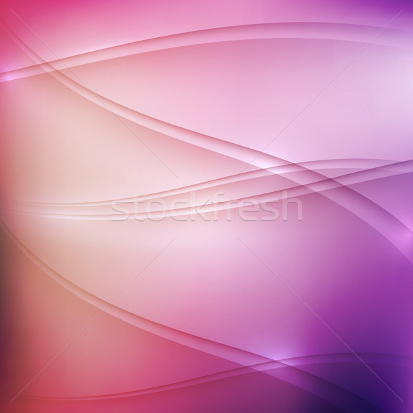 abstract multicolored background with waves  Stock photo © maximmmmum