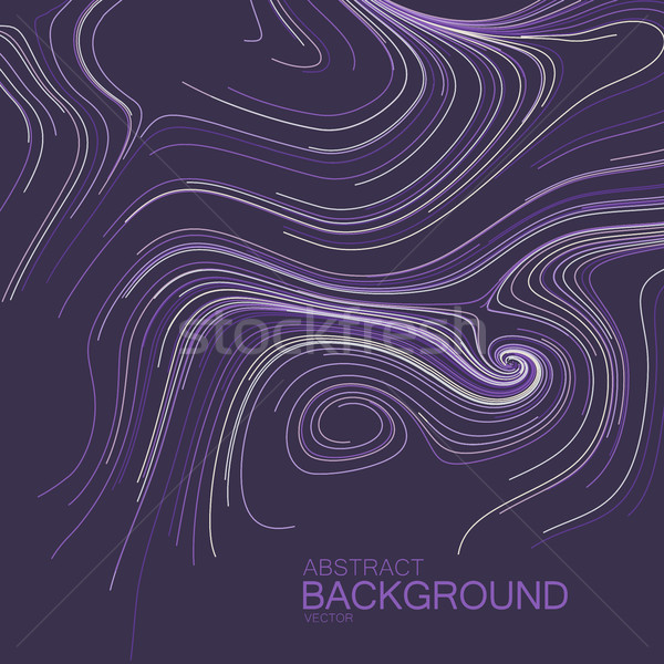 Abstract artistic curl background with swirled stripes. Stock photo © maximmmmum