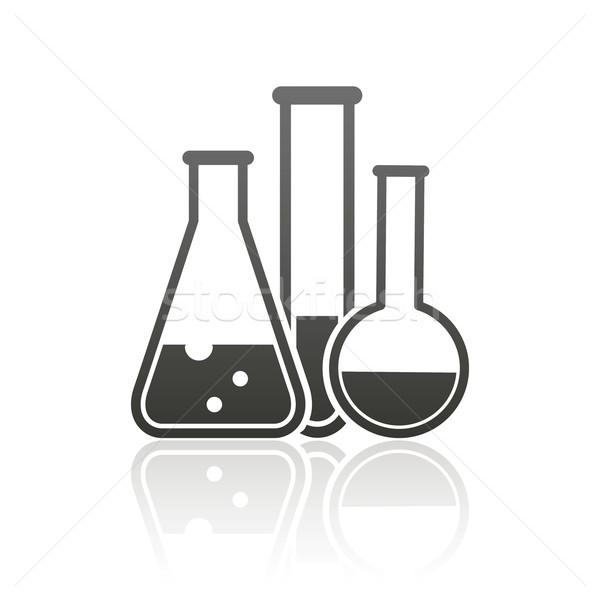 laboratory equipment icon  Stock photo © maximmmmum