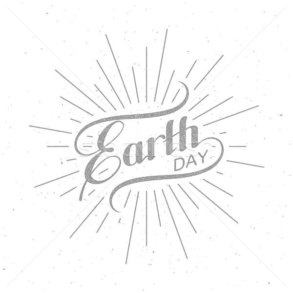знак дизайна Label экология события Сток-фото © maximmmmum