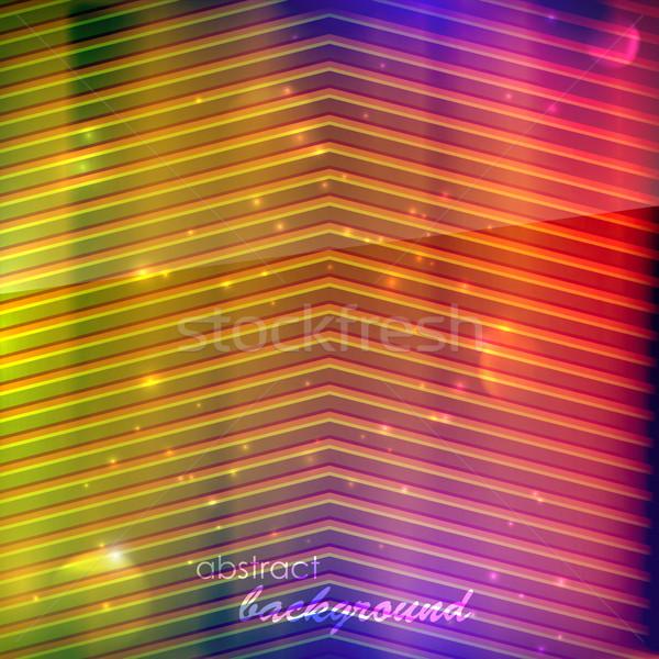Streszczenie wielobarwny papieru tle ramki sztuki Zdjęcia stock © maximmmmum