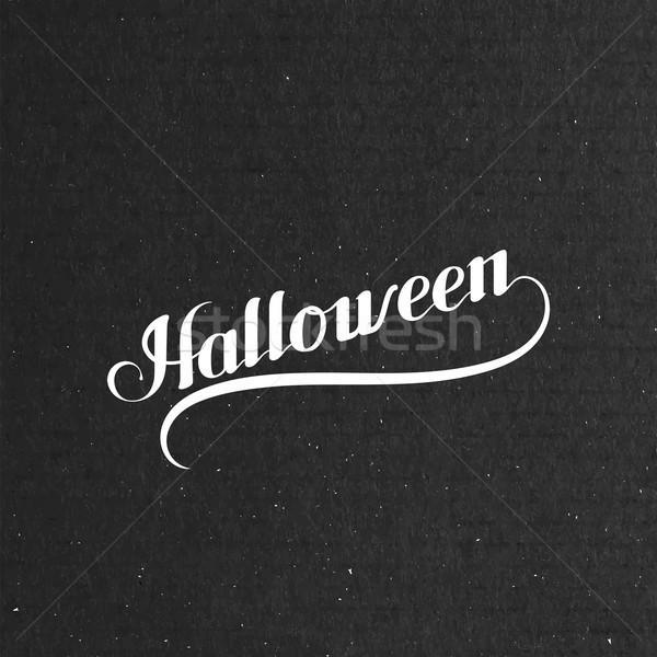 Halloween. Holiday Vector Illustration Stock photo © maximmmmum