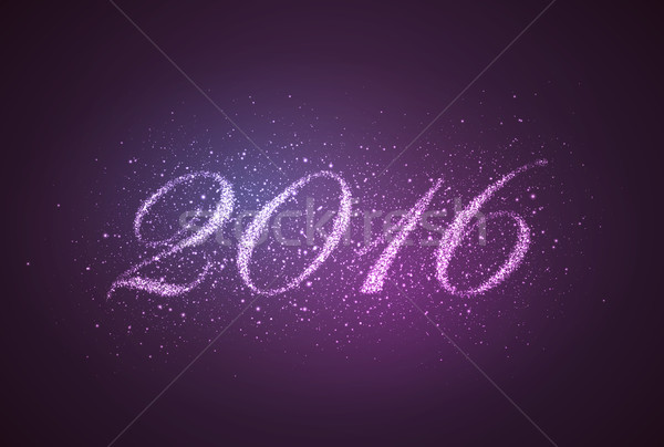 happy new year 2016.  Stock photo © maximmmmum