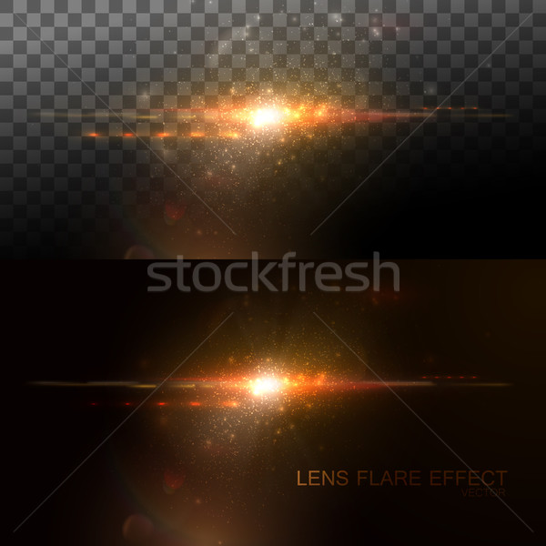 Digital lens flare effect Stock photo © maximmmmum