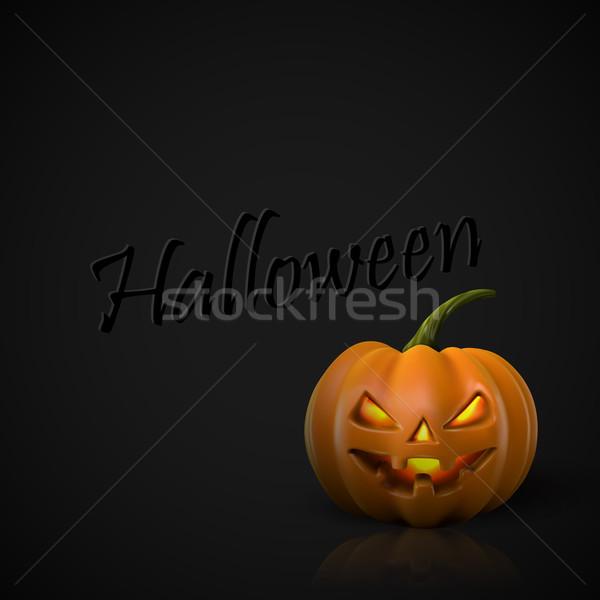 alloween Pumpkin Jack Lantern. Stock photo © maximmmmum
