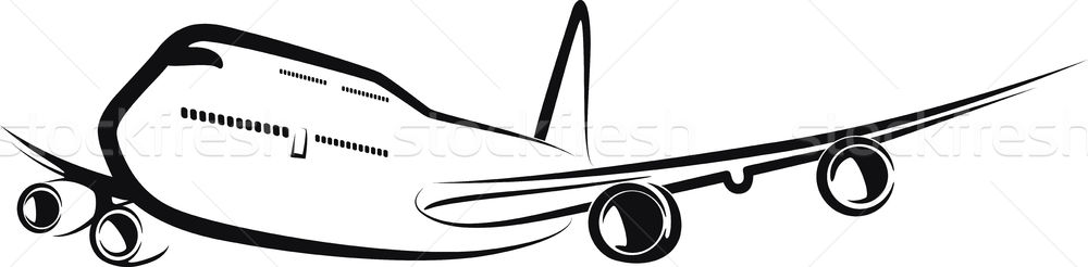 aircraft Stock photo © maximmmmum