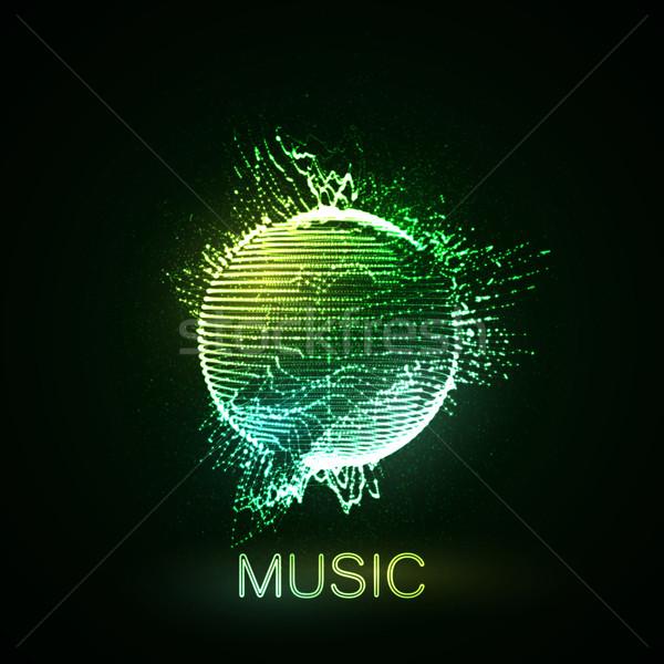 ストックフォト: 音楽 · 3D · 球
