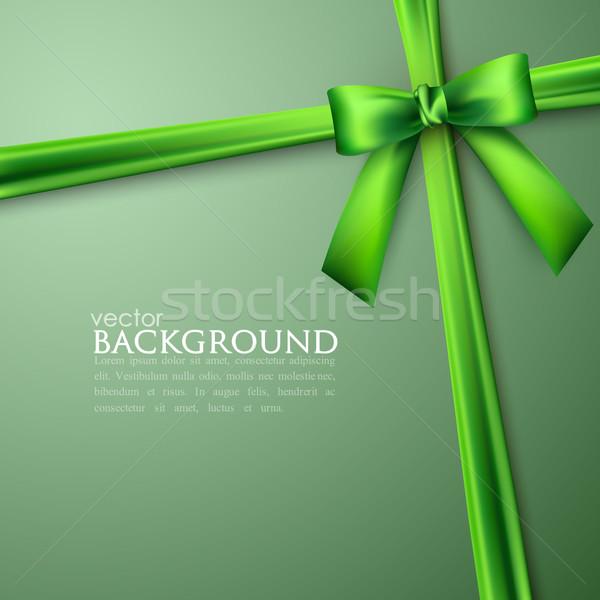 Stockfoto: Elegante · groene · boeg · textuur · ontwerp · kruis