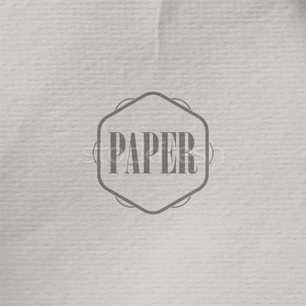 abstract vector background with old crumpled paper texture Stock photo © maximmmmum