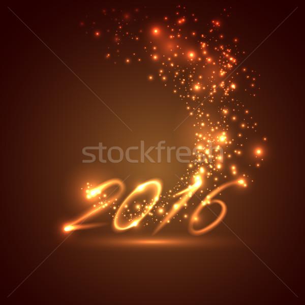 happy new year 2016. holiday background  Stock photo © maximmmmum