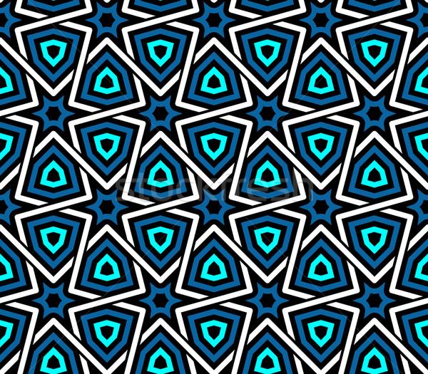 シームレス 民族 パターン ヴィンテージ ベクトル ストックフォト © maximmmmum