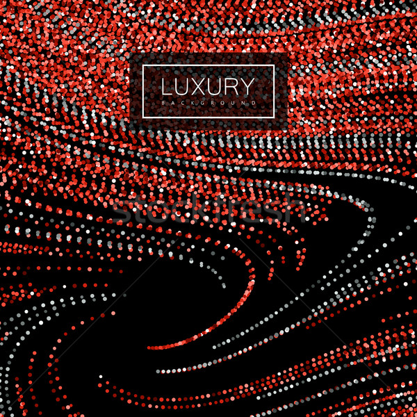 Lujo brillante rubí rojo brillante Foto stock © maximmmmum