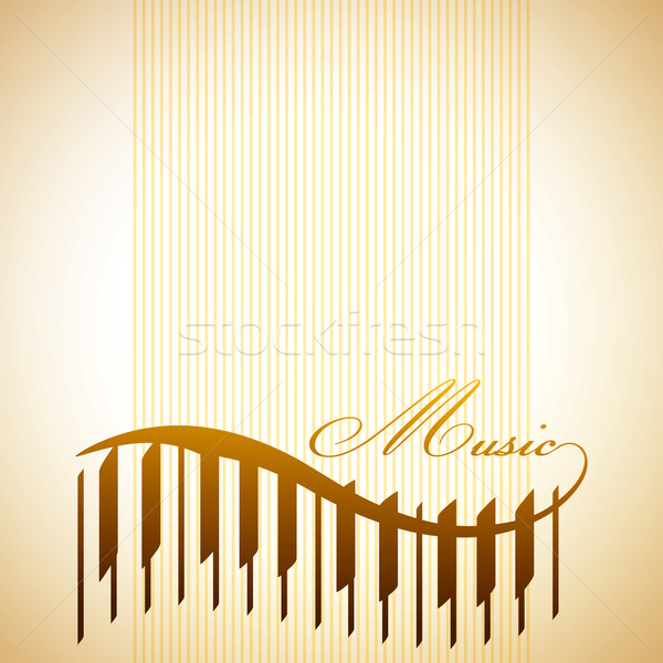 abstract background with the piano Stock photo © maximmmmum