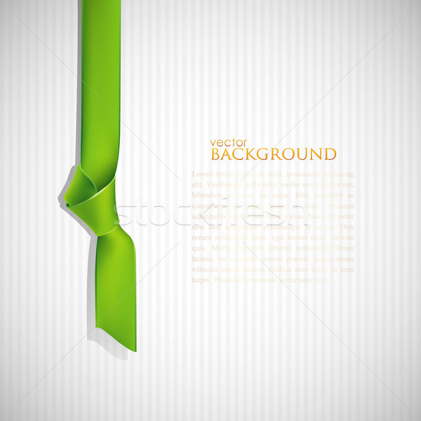 abstract background with green bookmark  Stock photo © maximmmmum