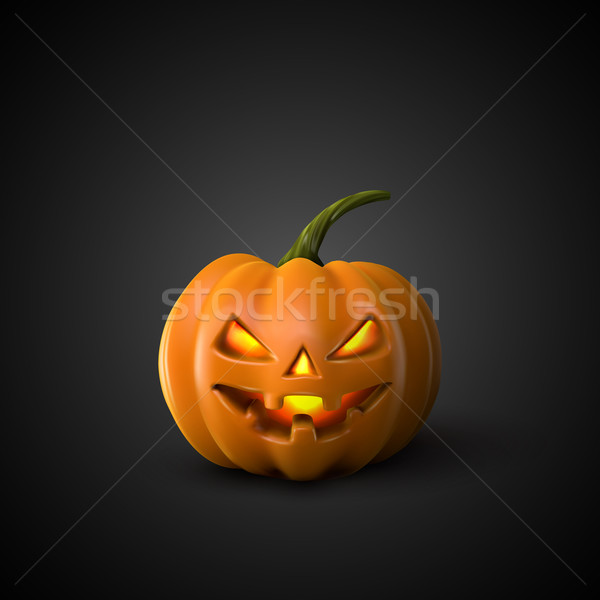 Halloween Pumpkin Jack Lantern.  Stock photo © maximmmmum