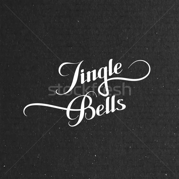 Jingle Bells. Merry Christmas. Stock photo © maximmmmum
