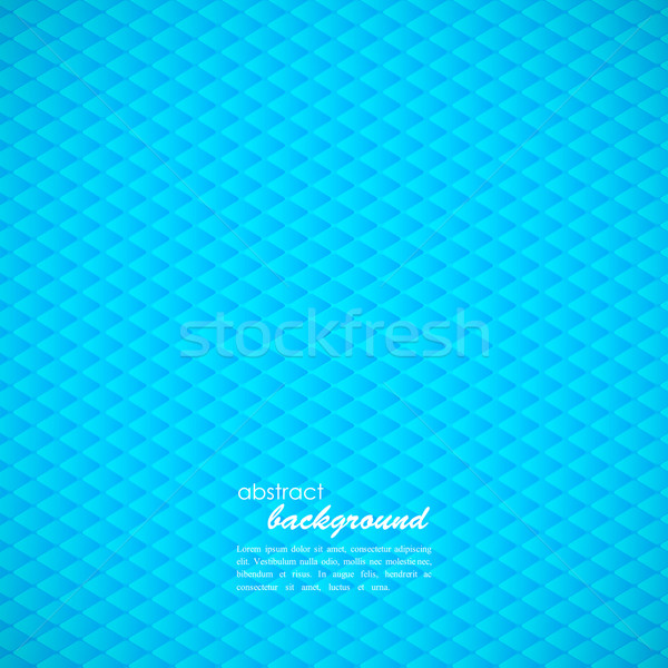 abstract blue background with rhombus  Stock photo © maximmmmum