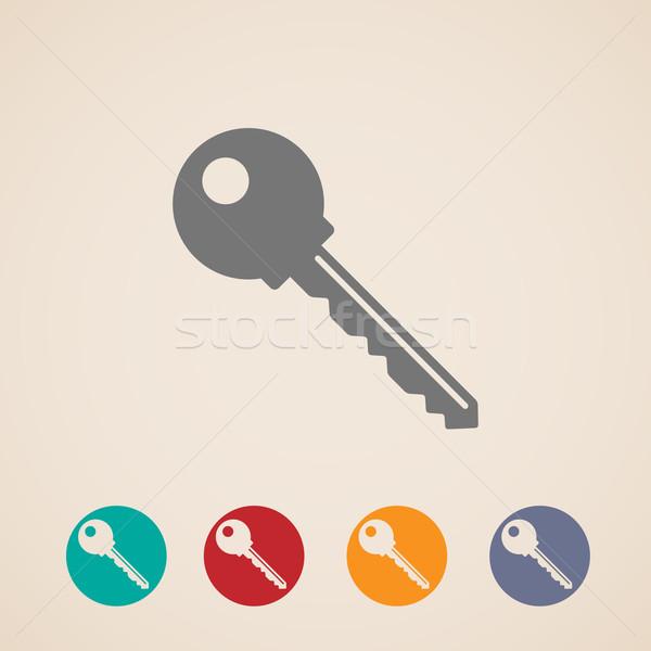 vector key icons  Stock photo © maximmmmum