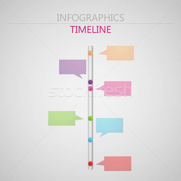 vector abstract 3d paper infographic elements for print or web