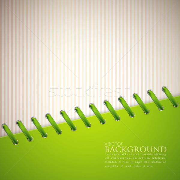 аннотация зеленый кружево фон металл искусства Сток-фото © maximmmmum