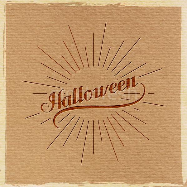 Halloween wakacje świetle promienie projektu tle Zdjęcia stock © maximmmmum