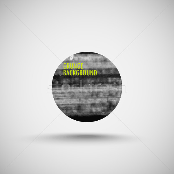 Grunge watercolor background. brushed ink texture. Abstract vector banner Stock photo © maximmmmum