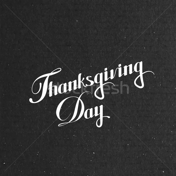 ストックフォト: サンクスギビングデー · 日 · 休日 · ベクトル · 幸せ · 背景