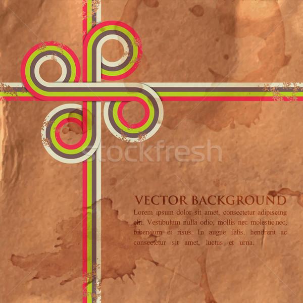 Гранж ретро красочный бумаги текстуры Сток-фото © maximmmmum