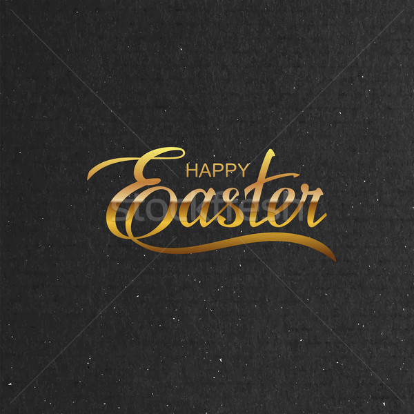 Happy Easter. Vector Illustration Stock photo © maximmmmum