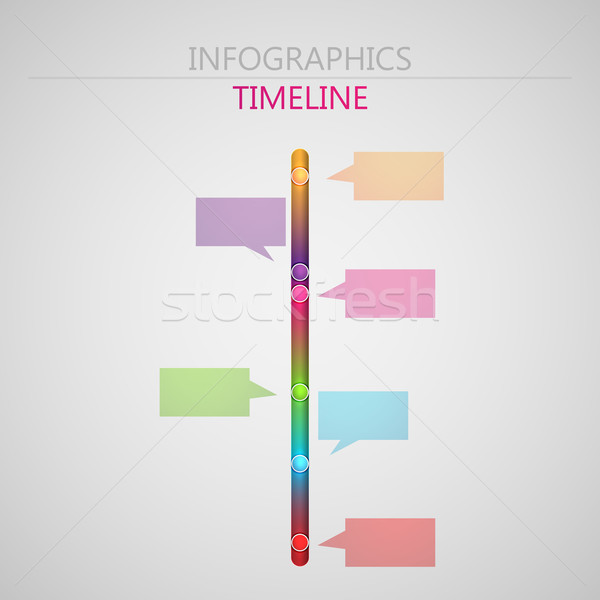 Vector Abstract D Paper Infographic Elements For Print Or Web