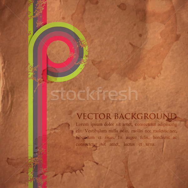 Grunge Retro renkli kâğıt doku Stok fotoğraf © maximmmmum