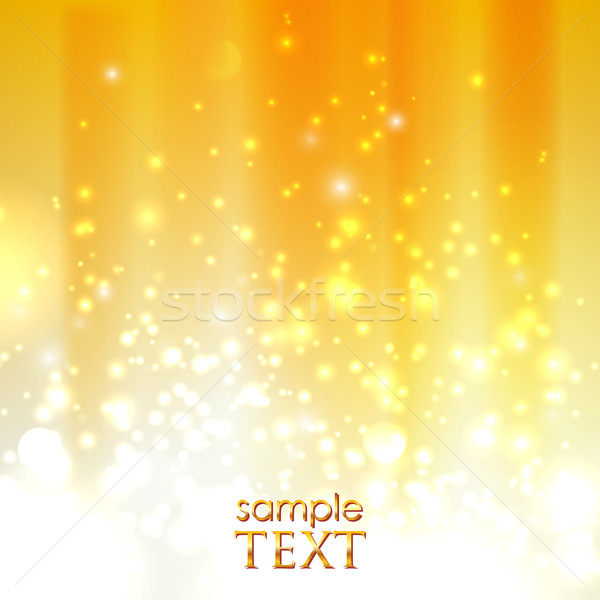 abstract orange background with sparkles  Stock photo © maximmmmum